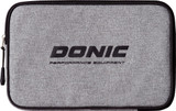 Donic Pixel Simple Grey Racket Case  Ping Pong Depot Table Tennis Equipment