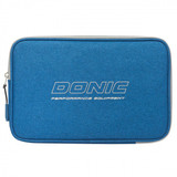Donic Pixel Simple Blue Melange Racket Case  Ping Pong Depot Table Tennis Equipment