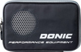 Donic Phase Double Black Silver Case  Ping Pong Depot Table Tennis Equipment