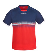 DONIC Traxion Navy/Red T-Shirts