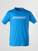 DONIC Logo Blue T-shirts Ping Pong Depot Table Tennis Equipment