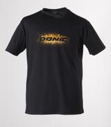 DONIC Logo Black Orange T-shirts Ping Pong Depot Table Tennis Equipment