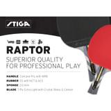 Stiga Raptor Racket Ping Pong Depot Table Tennis Equipment