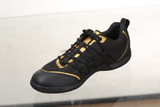 Xiom 18 Footwork Black-Gold Shoes Ping-Pong Depot Table Tennis Equipment