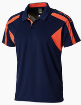 Xiom Harold XL Navy / Orange Shirt  Ping Pong Depot Table Tennis Equipment