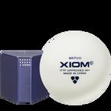 Xiom Bravo ITTF (6) ABS White Balls Ping Pong Depot Table Tennis Equipment