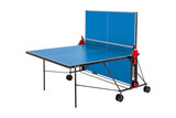 Sponeta S 1-43 e 4mm Outdoor Blue Table - FREE Ship & Net (Canada only) Ping Pong Depot Table Tennis Equipment