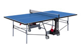 Sponeta S 3-73 e 5mm Outdoor Blue Table - FREE Ship & Net (Canada only) Ping Pong Depot Table Tennis Equipment