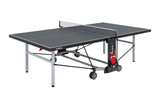 Sponeta S 5-70 e 6mm Outdoor Grey Table - FREE Ship & Net (Canada only) Ping Pong Depot Table Tennis Equipment