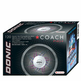 Donic P40+ Coach 1* White (120) ABS balls Ping Pong Depot Table Tennis Equipment