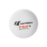 Cornilleau 40+ P-Ball 1* White (72) Balls