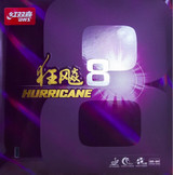 Rubber Sheet for Combo Blade - DHS Hurricane MID 8 Rubber (Only with 1 Combo Blade)