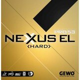 GEWO Nexxus EL Pro 53 Hard Rubber  Ping Pong Depot Table Tennis Equipment