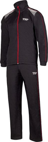 TSP Kuma Black-Red Tracksuit