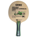 Gewo Aruna Hinoki Carbon OFF FL Ping Pong Depot Table Tennis Equipment