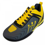 Gewo Speed Flex One Charcoal-Yellow Shoes Ping Pong Depot Table Tennis Equipment