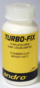 andro Turbo Fix Glue 1000 ml Ping Pong Depot Table Tennis Equipment