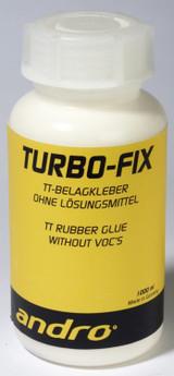 andro Turbo Fix Glue 1000 ml Ping Pong Depot Table Tennis Equipment