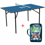 GEWO Mini-Table with Set Rave Ping Pong Depot Table Tennis Equipment