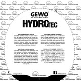 Gewo hydrotec Protection Sheet Ping Pong Depot Table Tennis Equipment
