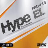 Rubber Sheet for Combo Blade - Gewo Hype EL Pro 47.5 Rubber Sheet (Only with 1 Combo Blade)
