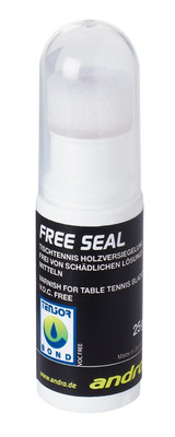 andro Free Seal Varnish 25 g Ping Pong Depot Table Tennis Equipment