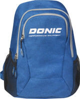 Donic Rythm Blue Melange Backpack  Ping Pong Depot Table Tennis Equipment