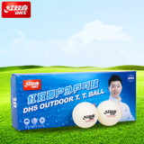 DHS Outdoor White (10) Balls Ping Pong Depot Table Tennis Equipment 1