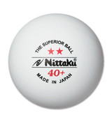 Nittaku 40+ 2* White Made in Japan (3)