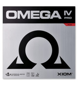 Xiom Omega IV Pro Rubber Ping Pong Depot Table Tennis Equipment