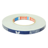 Butterfly Side Tape Blue/Silver - 12mm - 50m Ping Pong Depot Table Tennis Equipment