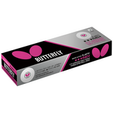 Butterfly R40+ 3-Star White (12) Balls