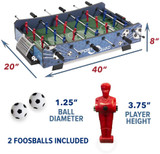 Joola FX40 Foosball Table Top Ping Pong Depot Table Tennis Equipment 5
