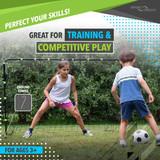 Sport Squad 6' x 4' Steel Soccer Goal Ping Pong Depot Table Tennis Equipment 3