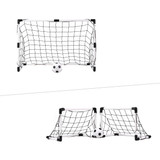 Sport Squad Mini 2-in-1 Dual Use Soccer Goal Ping Pong Depot Table Tennis Equipment 1