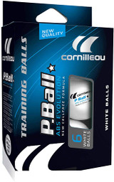 Cornilleau P-Ball ABS-Evolution 40+ 1* Balls (pack of 6)  Ping Pong Depot Table Tennis Equipment 2