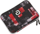 Andro Single Fraser Racket Case Red/Black  Ping Pong Depot Table Tennis Equipment