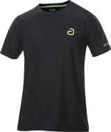 Andro Alpha Melange Pro Black/Green T-Shirt