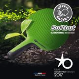Cornilleau Softbat School Green Racket 3