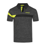 Donic Stripes Anthracite-Black-Yellow Shirt 1