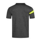 Donic Stripes Anthracite-Black-Yellow Shirt 2