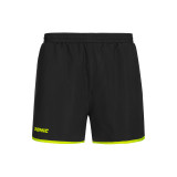 Donic Loop Black Fluo Yellow Shorts 1