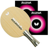 Butterfly Pro Line Racket Boll Allround FL with Rozena