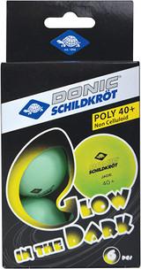 Donic-Schildkröt Glow in The Dark Table Tennis Balls (6) a