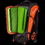 Onix Pro Team Wheeled Duffle Orange/Black 5