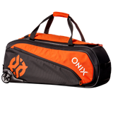 Onix Pro Team Wheeled Duffle Orange/Black 3