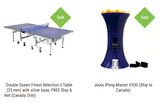 Combo Table / Robot Leisure Best: Double Queen Finest Selection 2 Table (25 mm), FREE Ship & Net (Canada Only) + Joola iPong V300 Robot (Canada only) 1