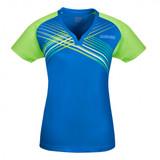 Donic Riva Lady Danube-Lime Shirt 1