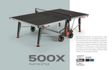 Cornilleau Sport 500X Crossover Indoor/Outdoor Table - FREE Ship & Net 1
