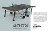 Cornilleau Sport 400X Crossover Indoor/Outdoor Table - FREE Ship & Net 1